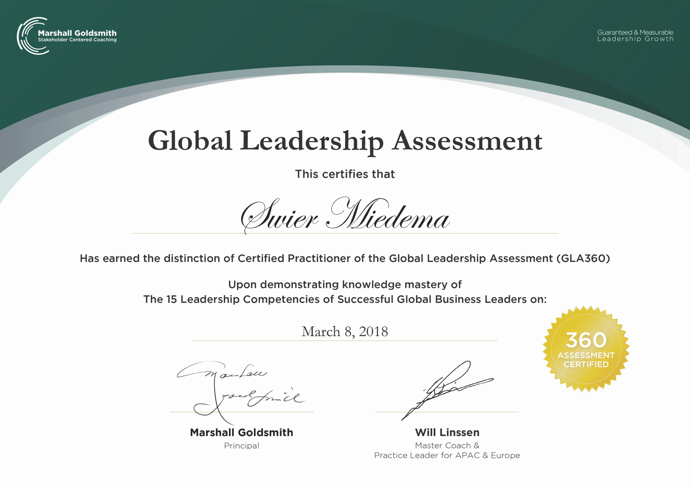Global Leadership Assessment